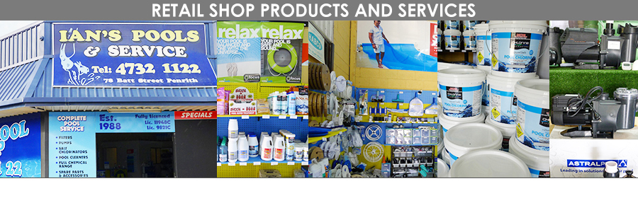 Retail Shop Products and Services